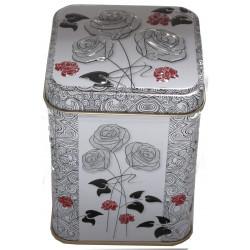 Boîte Roses Noir et Blanc