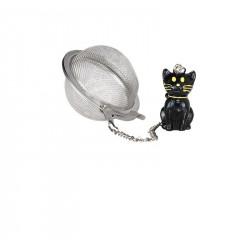 Contrepoids Chat Noir Ø 5cm
