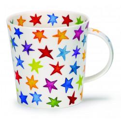 Mug Dunoon Étoiles Multicolores
