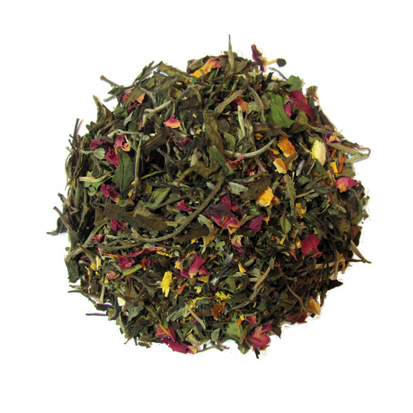 Thé blanc Lavande, Rose - Thé blanc PROVENCE  - Compagnie Anglaise des Thés
