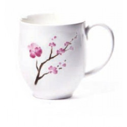 Mug Fleur de Cerisier en porcelaine