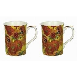 Coffret Mugs Van Gogh Tournesols