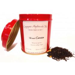 Thé AGRUMES - Thé noir CORSICA en boîte