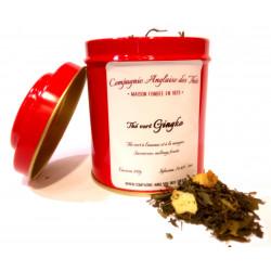 Thé ANANAS, MANGUE -Thé vert GINGKO en boîte