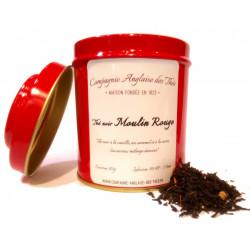 Thé CERISE, VANILLE, CARAMEL - Thé noir MOULIN ROUGE en boîte