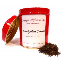Thé noir nature de Chine - Boîte de thé noir GOLDEN YUNNAN