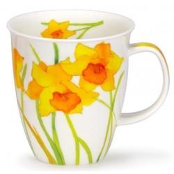 Mug Dunoon Fleurs jaunes
