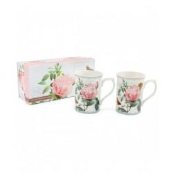 Coffret Mugs Redoute Rose