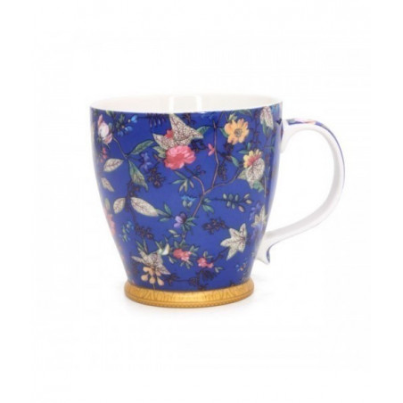 Mug Fleurs Bleues