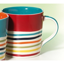 Mug Rayures Bleue - Compagnie Anglaise des Thés