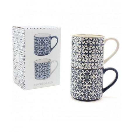 Coffret Mugs Mosaique