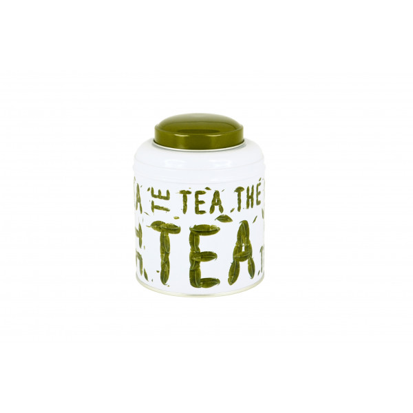 Boite tea cylindrique - Compagnie Anglaise des Thes