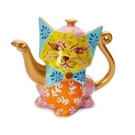 Théière Chat Multicolore 0.8l