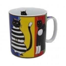 Mug Maxi Chats Art Déco - Compagnie Anglaise des Thés
