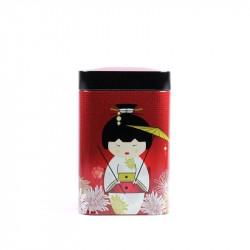 Boîte Kokeshi Rouge