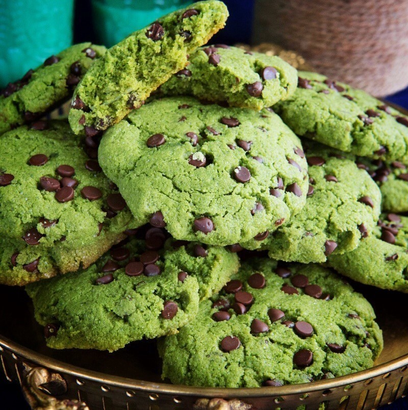 Cookies choco-matcha
